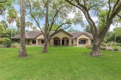 McAllen Single Family Home For Sale: 900 Kendlewood Avenue