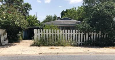 McAllen TX Single Family Home For Sale: $40,000