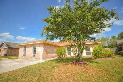 McAllen TX Single Family Home For Sale: $137,500