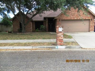 McAllen TX Single Family Home For Sale: $114,500