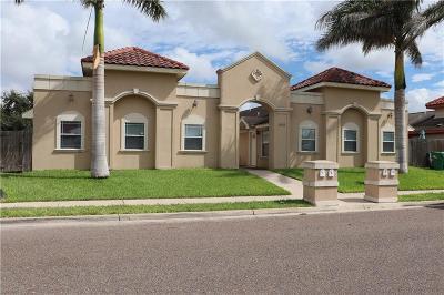 Pharr Multi Family Home For Sale: 1902 W Bronze Street