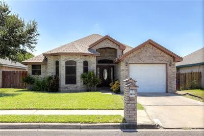 McAllen TX Single Family Home For Sale: $125,000