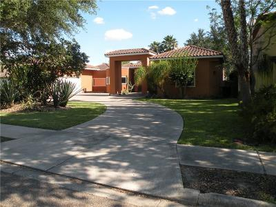 McAllen Single Family Home For Sale: 1505 Duke Avenue