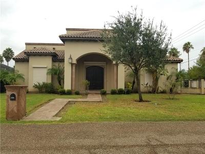Cameron County Single Family Home For Sale: 1043 Avenida De Estrellas Street
