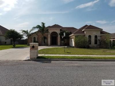 Weslaco Single Family Home For Sale: 608 Santa Elena Street