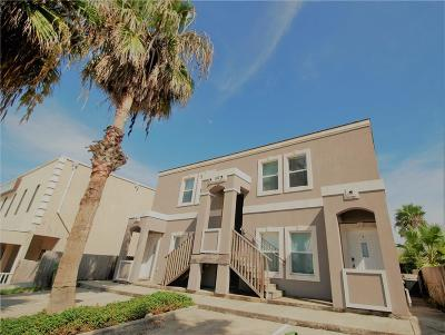 South Padre Island Condo/Townhouse For Sale: 102 E Huisache Street #3