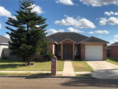 Pharr Single Family Home For Sale: 920 San Pedro Drive