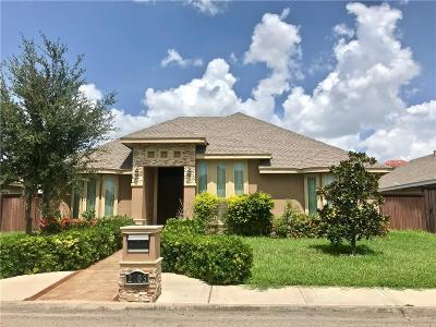 Pharr Single Family Home For Sale: 2003 S Villa Real Drive
