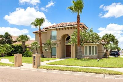 McAllen TX Single Family Home For Sale: $277,500