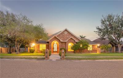 McAllen Single Family Home For Sale: 7612 N 20th Street