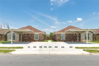 Edinburg Multi Family Home For Sale: 3003 Linda Vista Street