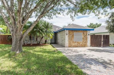 Pharr Single Family Home For Sale: 3508 Amaretto Drive
