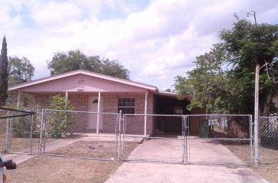 Brownsville Single Family Home For Sale: 5441 Amatista Drive