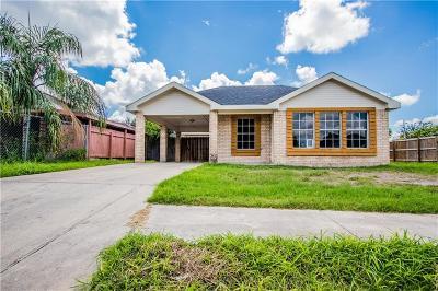 Pharr Single Family Home For Sale: 813 W Eagle Avenue