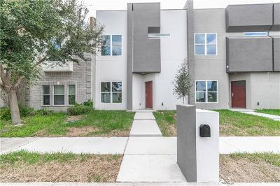 McAllen Condo/Townhouse For Sale: 6704 N 4th Street