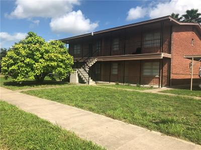 Edinburg Multi Family Home For Sale: 1809 W Kuhn Street