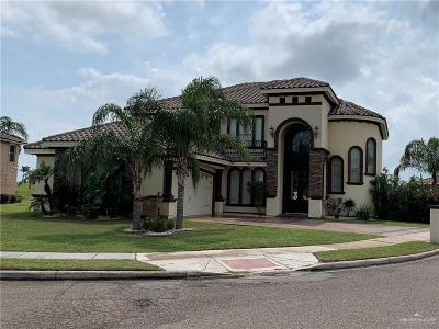 Edinburg Single Family Home For Sale: 3302 Los Lagos Drive