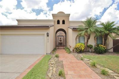 McAllen Single Family Home For Sale: 7813 N Cynthia Street