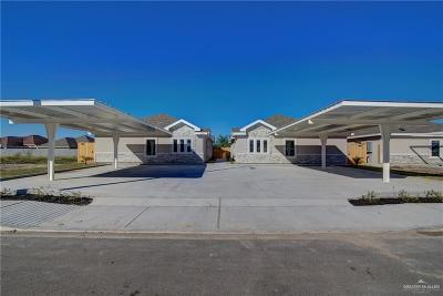 Edinburg Multi Family Home For Sale: 3715 Tinsley Avenue