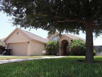 McAllen TX Single Family Home For Sale: $182,500