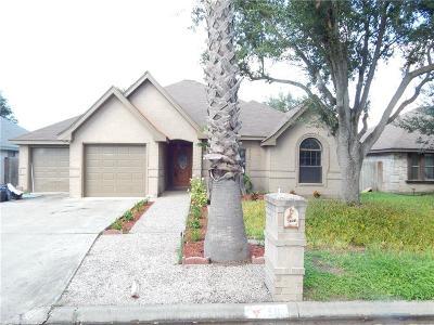 McAllen TX Single Family Home For Sale: $168,000