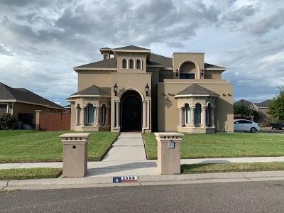 McAllen TX Single Family Home For Sale: $355,000