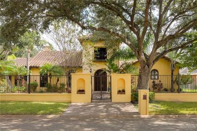 McAllen Single Family Home For Sale: 1217 S Peking Street