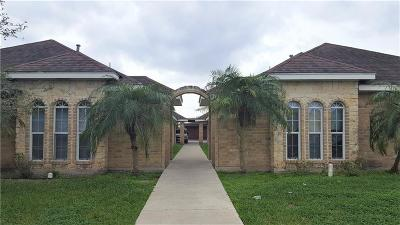Edinburg Multi Family Home For Sale: 3708 W Sarah Evans