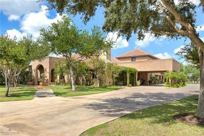 McAllen TX Single Family Home For Sale: $1,390,000