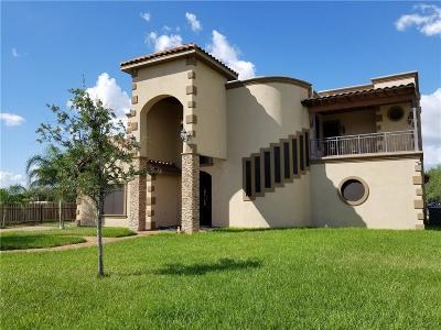 Pharr Single Family Home For Sale: 336 Navarro Street