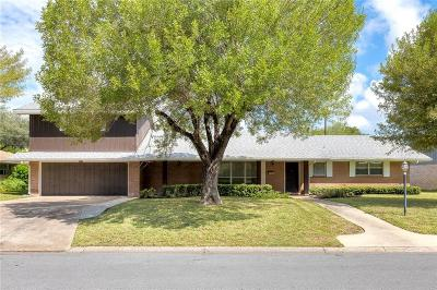 McAllen TX Single Family Home For Sale: $349,000