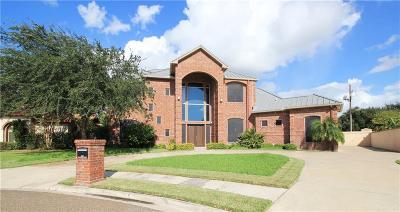 McAllen TX Single Family Home For Sale: $499,900