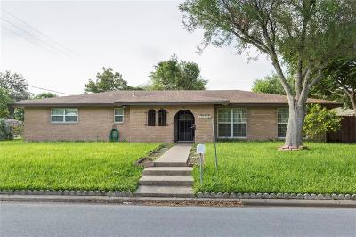 McAllen TX Single Family Home For Sale: $225,000