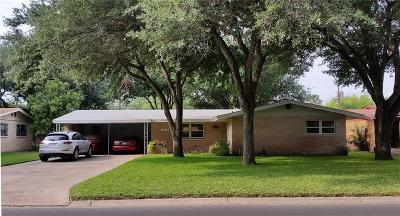 McAllen TX Single Family Home For Sale: $165,000
