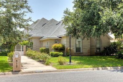 McAllen Single Family Home For Sale: 512 E Newport Lane