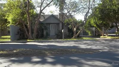 McAllen TX Single Family Home For Sale: $90,000