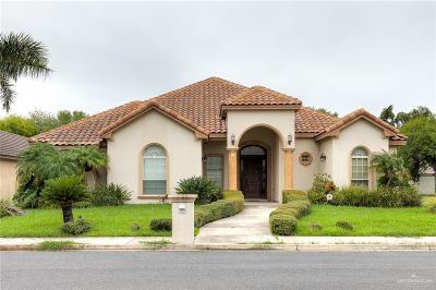 McAllen Single Family Home For Sale: 3808 S K Center Street