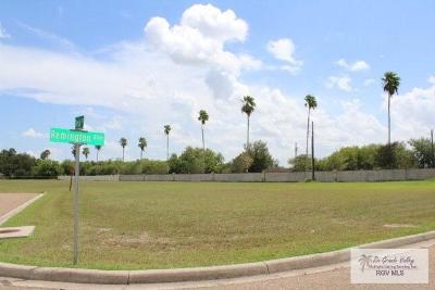 Harlingen Residential Lots & Land For Sale: Lot # 32 Remington Boulevard