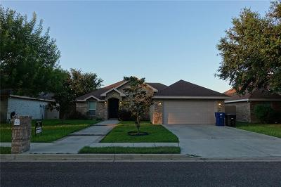 McAllen TX Single Family Home For Sale: $168,000