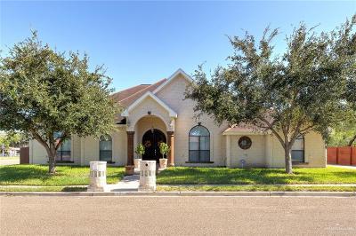 Pharr Single Family Home For Sale: 801 S Juniper Circle