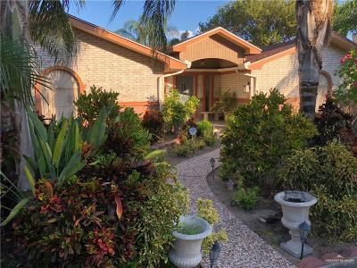 McAllen Single Family Home For Sale: 6208 N 16th Street