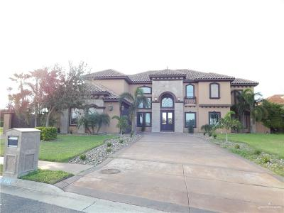 McAllen Single Family Home For Sale: 4140 Cosentino Drive