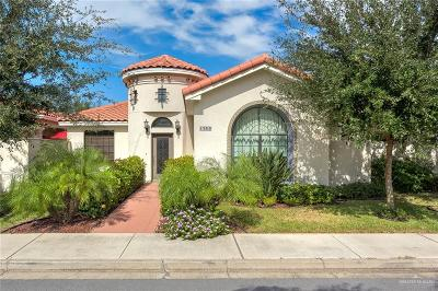 McAllen Single Family Home For Sale: 1309 E Agusta Avenue