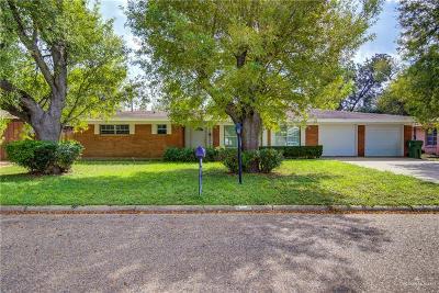 Weslaco Single Family Home For Sale: 1015 W Stone Street