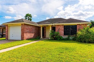 Pharr Single Family Home For Sale: 1008 E San Pedro Street