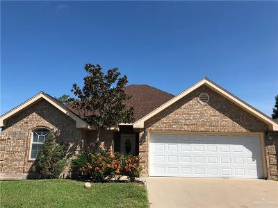 Pharr Single Family Home For Sale: 2806 Montgomery Drive