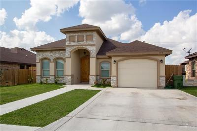 Weslaco Single Family Home For Sale: 2216 Lupita Street