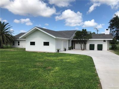 Weslaco Single Family Home For Sale: 819 Lion Lake Drive