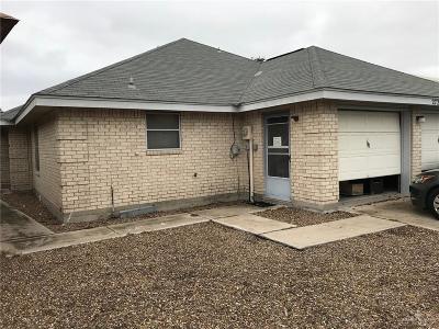 Pharr Single Family Home For Sale: 2728 Ashley Drive