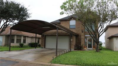 Pharr Single Family Home For Sale: 3009 Rhett Drive